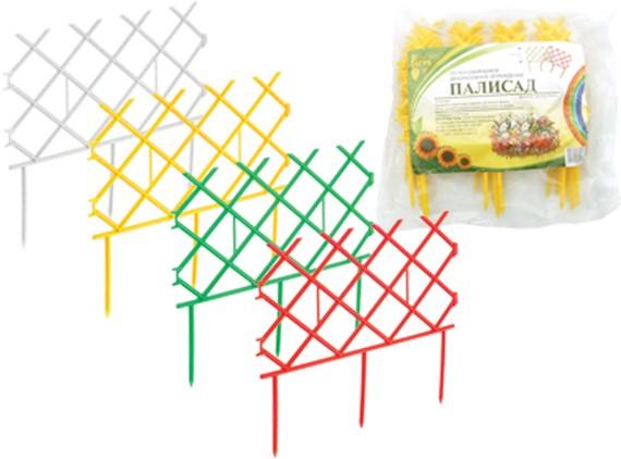 декоративный заборчик палисад